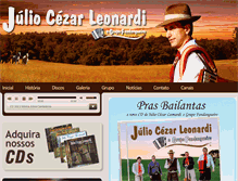 Tablet Preview of juliocezarleonardi.com.br